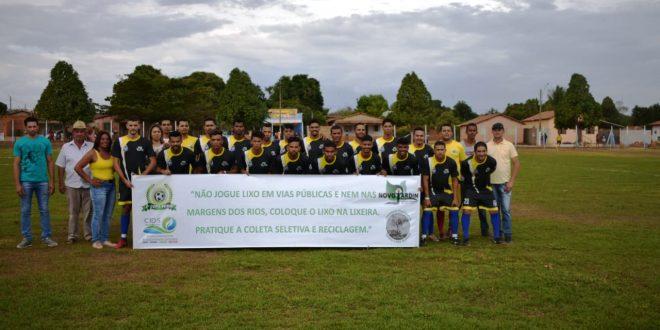 Novo Jardim abre a II Copa Verde de Futebol