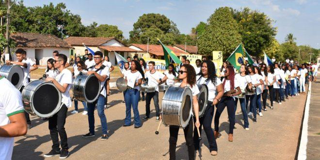 Novo Jardim realiza Desfile Cívico da Independência