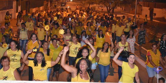 Novo Jardim em defesa da vida! Caminhada encerra campanha do Setembro Amarelo e valorização da vida