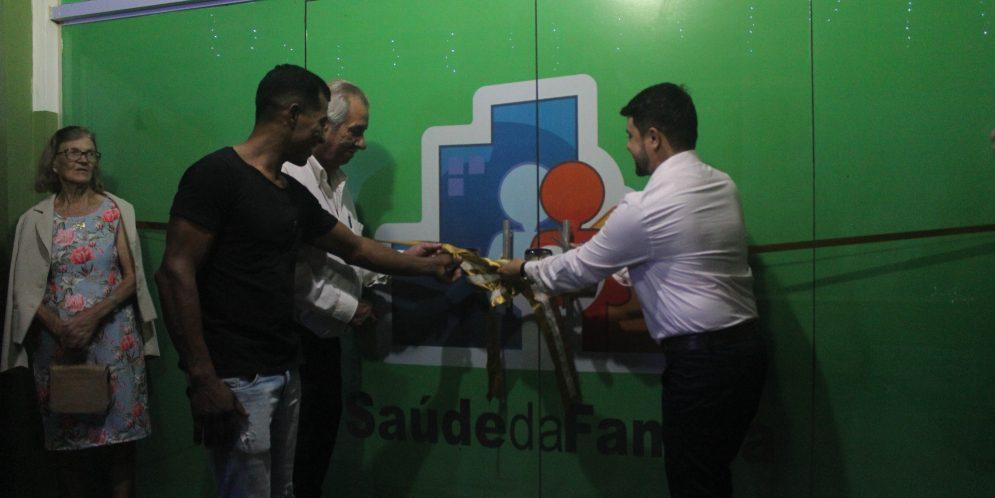 Prefeitura entrega nova Unidade Básica de Saúde e Quadra Poliesportiva para comunidade